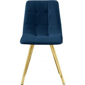 "Annie Velvet Dining Chair - 17.75"" W x 22"" D x 33.25"" H"