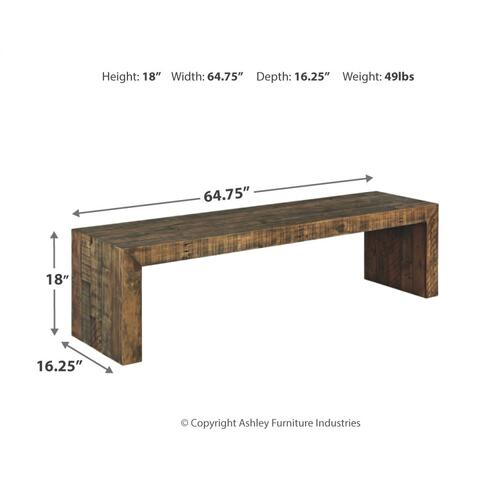 "Sommerford 65"" Dining Bench"