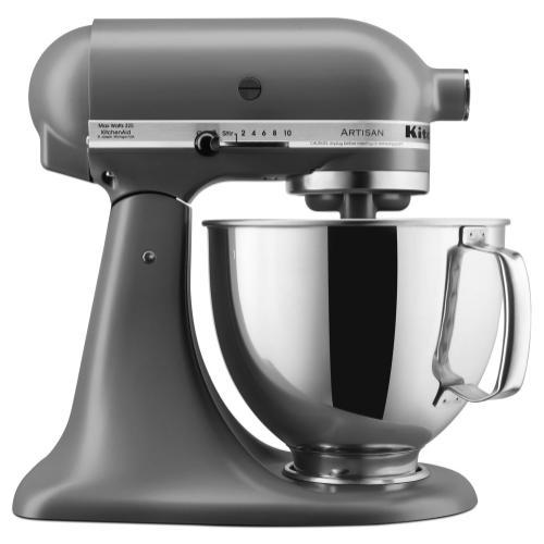 KitchenAid - Artisan® Series 5 Quart Tilt-Head Stand Mixer - Matte Gray