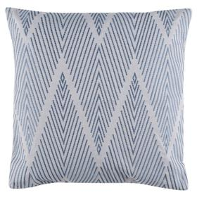 Elmira Pillow - Grey/blue