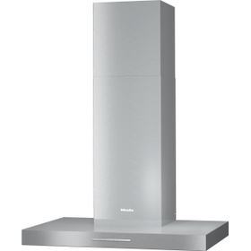 PUR 88 W - Wall ventilation hood with energy-efficient LED lighting and backlit controls for easy use.