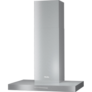 MielePUR 88 W - Wall ventilation hood with energy-efficient LED lighting and backlit controls for easy use.