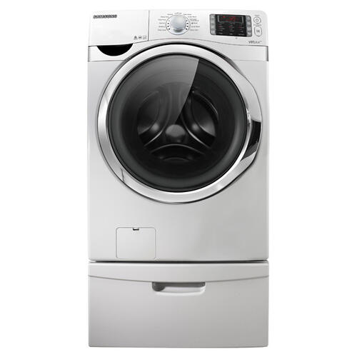 Samsung - 4.3 cu. ft. VRT Plus™ Front Load Washer (Neat White)