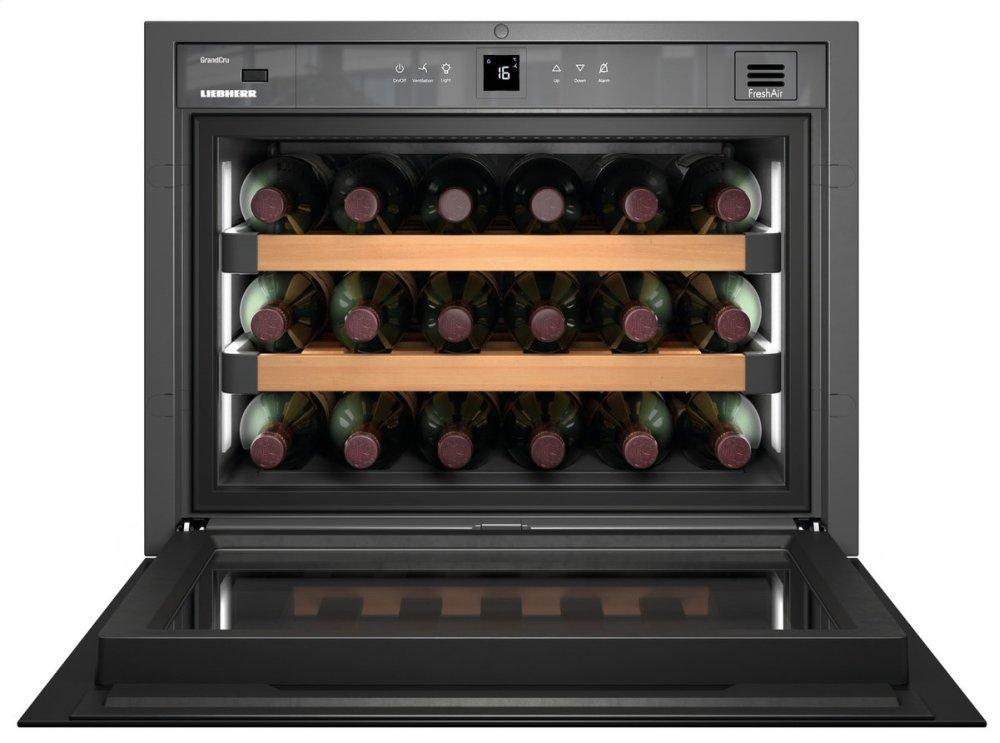 Built-in wine storage cabinet