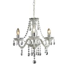 See Details - Theatre 3-Light Mini Chandelier in Clear