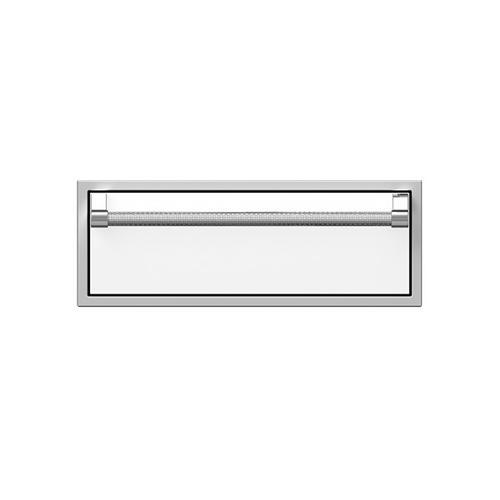 "Hestan - 30"" Hestan Outdoor Single Storage Drawer - AGSR Series - Froth"