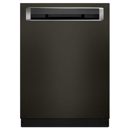 46 DBA Dishwasher with Third Level Rack and PrintShield™ Finish, Pocket Handle - Black Stainless Steel with PrintShield™ Finish