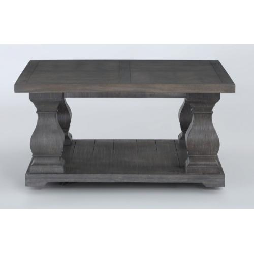Summit Square Coffee Table with Casters