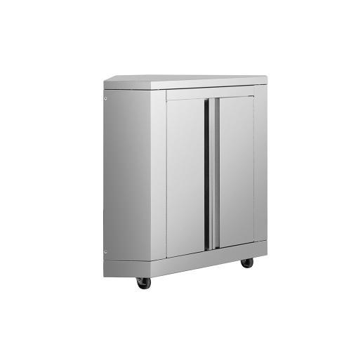 Outdoor Kitchen Corner Cabinet In Stainless Steel