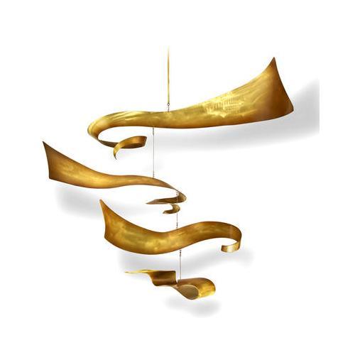 Artisan House - Whirlaway - Brass