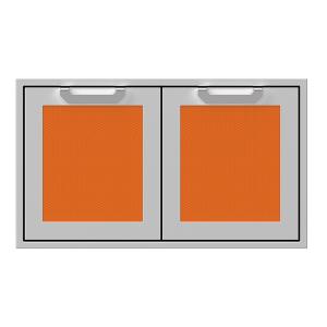 """36"""" Hestan Outdoor Double Storage Doors - AGSD Series - Citra"""