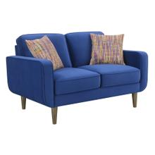 Jax Loveseat Blue