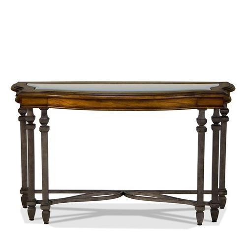 Product Image - Octavia Sofa Table August Morning/Stardust finish