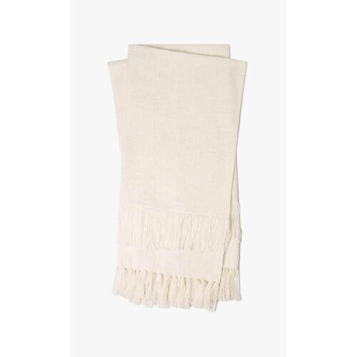 T1037 MH Ivory Throw