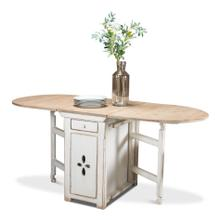 Waterfall Credenza Extending Table