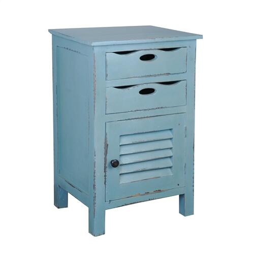 Accent Table - Beach Blue
