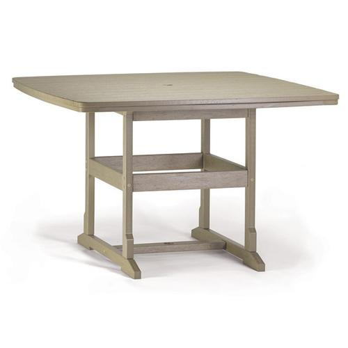 """58"""" x 58"""" Counter Table"""