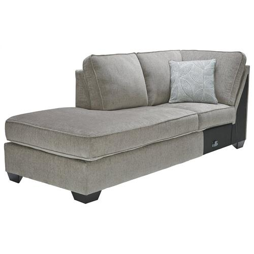 Altari Alloy Sectional w/ Recliner (87214)