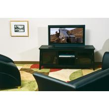 """60"""" TV Stand In Black"""