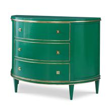 Orion Demilune Chest - Emerald