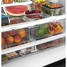 GE 26.7 Cu. Ft, French Door Refrigerator Slate - GNE27JMMES