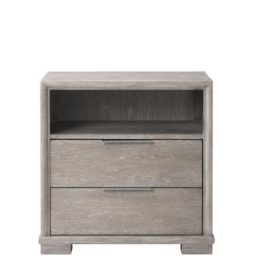 Remington - Two Drawer Nightstand - Urban Gray Finish