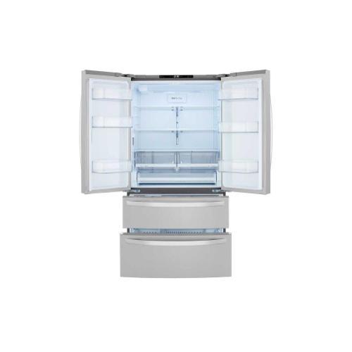 LG - 27 cu. ft. French Door Refrigerator