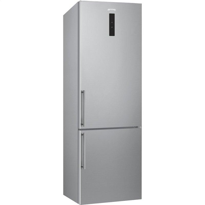 "60 CM (Approx. 24""), Combi Refrigerator/Freezer, Stainless Steel"