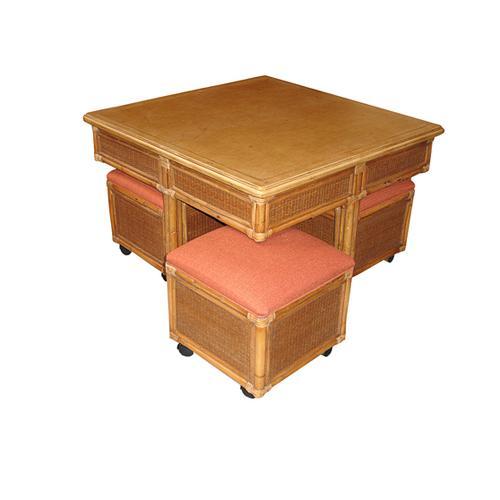 Capris Furniture - 354 Hassock Table