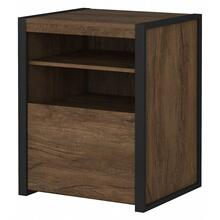 Latitude Printer Stand File Cabinet - Rustic Brown