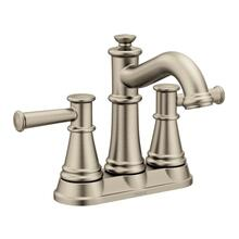 Belfield brushed nickel two-handle bathroom faucet