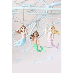 Mermaid Ornaments (3 asstd)