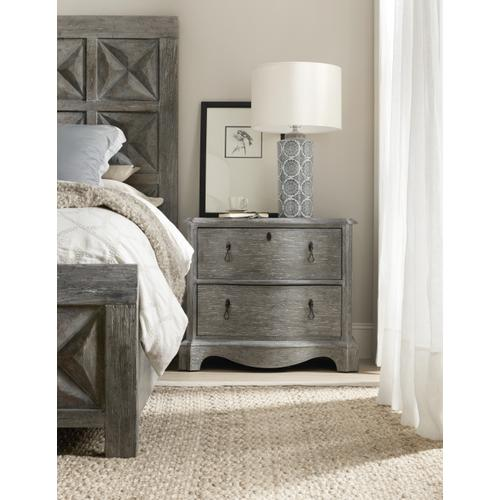 Beaumont Two-Drawer Nightstand