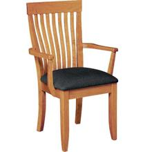 See Details - Monterey Arm Chair - Upholstered Seat