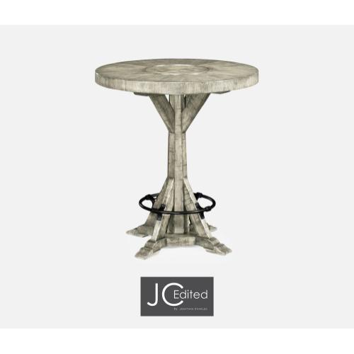 "36"" Rustic Grey Bar Table"