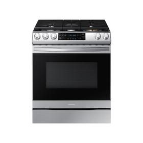 6.0 cu. ft. Front Control Slide-in Gas Range with Air Fry & Wi-Fi in Stainless Steel