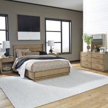 Big Sur Queen Bed; 2 Night Stands; Dresser & Mirror