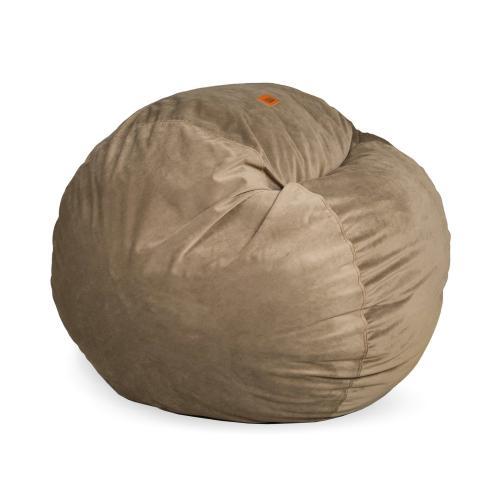 Full Chair - Plush Fur - Brown