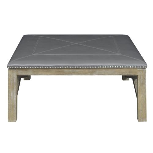 Emerald Home Square Upholstered Table T4389-00-03a