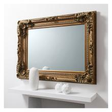 GA Carved Louis Mirror Gold