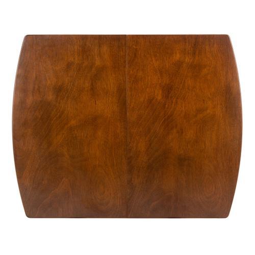 Varda Manual Extension Dining Table - Walnut
