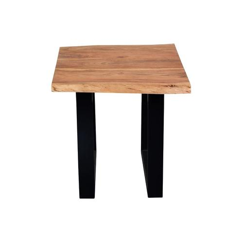 Gallery - Crossover Acacia Live Edge End Tables with different bases, SB-AUT-91C