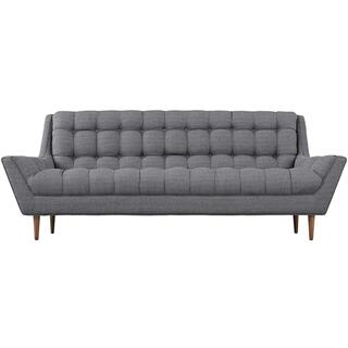 Response Upholstered Fabric Sofa in Gray