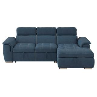 Ferriday Sectional with Pull-out Bed and Hidden Storage
