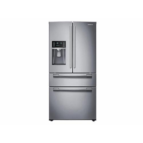 25 cu. ft. 4-Door French Door Refrigerator in Stainless Steel