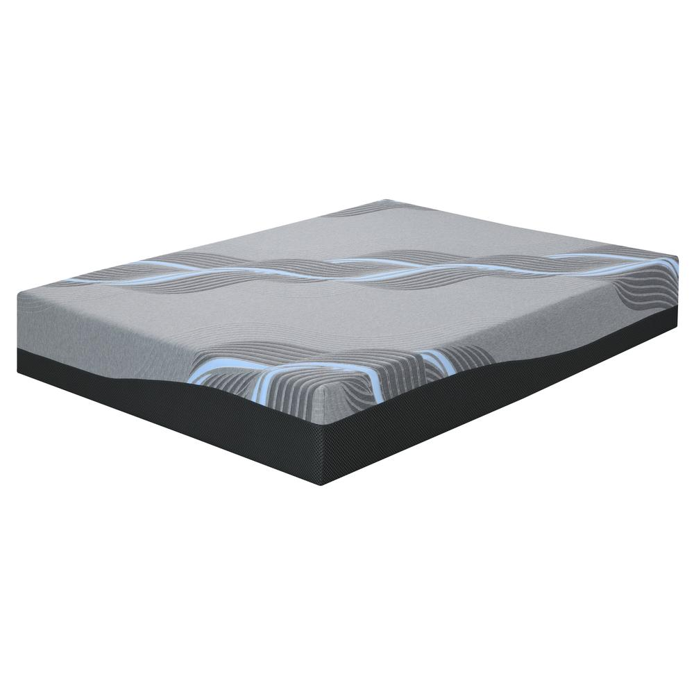 "Celestine 12"" Plush 12"" Cal King Mattress, Cosmos Gray Es5212ckm-01"