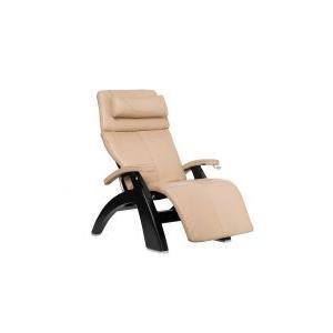 Perfect Chair ® PC-420 Classic Manual Plus - Ivory Premium Leather - Matte Black