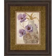 """Purple Sophistication Il"" By Nan Framed Print Wall Art"