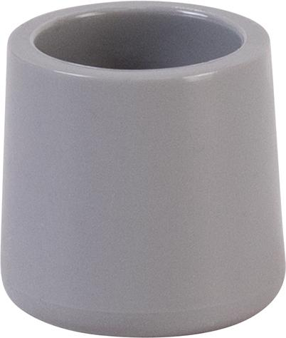 Flash Furniture - Grey Replacement Foot Cap for Plastic Folding Chairs