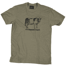 I'd Smoke That Cow T-Shirt - Large
